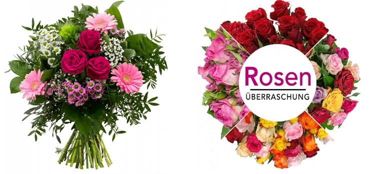 15% Rabatt auf ausgewählte Muttertags Blumensträuße bei BlumeIdeal z.B. 35 bunte Rosen nur 27,95€