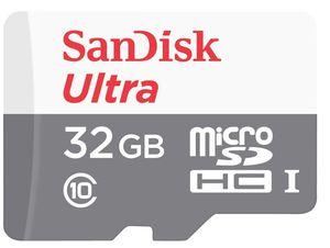 DOPPELPACK   SanDisk Ultra microSDHC 32GB Class 10 Speicherkarte für 12€ (statt 20€)