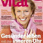 """3 Ausgaben """"vital"""" für 9,75€ inkl. 10€ Amazon Gutschein"""