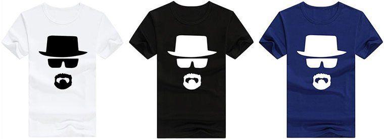 T Shirt Heisenberg in 3 Farben für je 6,54€