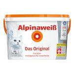 Alpina Wandfarben Sale bei vente-privee – z.B. 10 Liter Weiß Matt für 35,90€ (statt 47€)