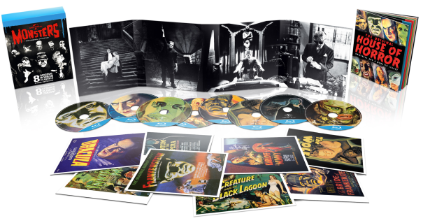 Universal Classic Monsters: The Essential Collection (Blu ray) für 15,44€ (statt 25€)