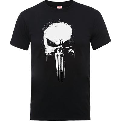 The Punisher Paintspray Doppelpack Herren T Shirt für 29,49€ (statt 44€)