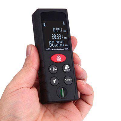 KXL D80   Laser Entfernungsmesser (bis 80m) für 13,92€ (statt 18€)