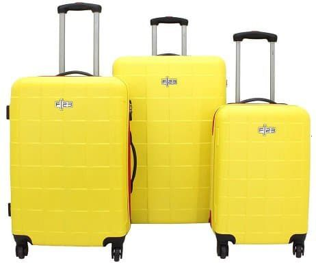 F23 Hartschalen Trolley Set mit 4 Rollen, verschiedene Farben für 64,90€ (statt 196€)