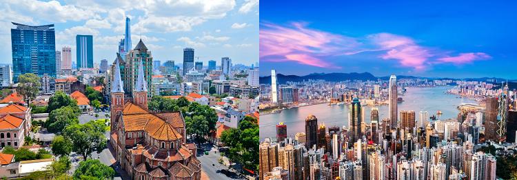 Hongkong & Vietnam Rundreise Rundreise (15 ÜN) mit Frühstück, Transfers, Stadtbesichtigungen, Ausflüge + Flüge ab 1.459€ p.P.