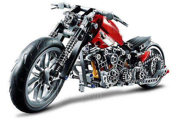 Beilexing   Motorrad aus 378 Teilen zum Selbstaufbau für 18,87€