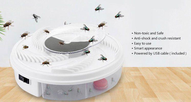 Elektrische Fliegenfalle ohne Chemie etc für 8,21€
