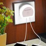 Dreierpack: Alfawise HTV 777 – Dual-USB-Ladeport mit LED für 4,41€