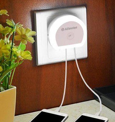 Alfawise HTV 777   Dual USB Ladeport mit LED für 0,87€