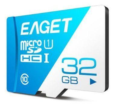 EAGET T1   Class 10 TF Card mit 32GB für 4,20€
