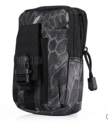 Kleine praktische Tasche in Camouflage Optik für 2,61€