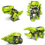 """4 in 1 Solarroboter """"Dinosaurier"""" zum Aufbauen für 7,15€"""