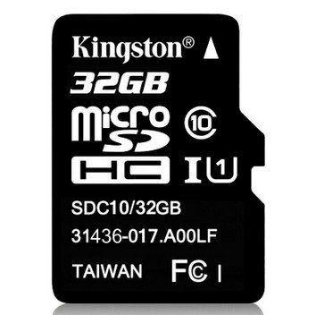 Kingston (SDC10) microSDHC Karte 32GB Class 10 für 6,26€ (statt 23€)