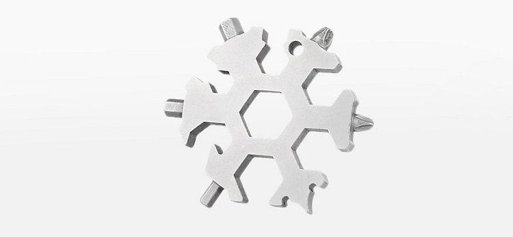 19 in 1 Multifunktions Tool in Form einer Schneeflocke für 8,69€