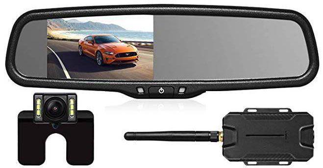 AutoVox T1400W   Kabelloses Rückfahrkamera Set für 84,49€ (statt 130€)