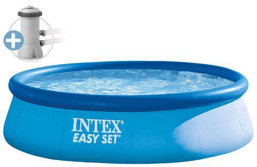 Intex Easy Pool + Filterpumpe (Ø 396 cm) für 58,90€ € (statt 70€)
