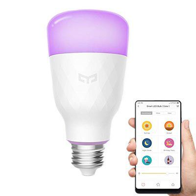 Xiaomi Yeelight YLDP06YL 10W LED RGB Glühbirne   für 20,45€   neueste Version aus EU Lager