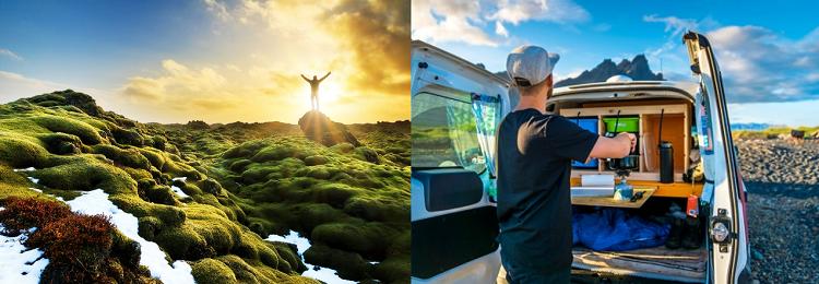 3   7 ÜN Island   Individual Reise im Camper + 2 ÜN im Hotel, unbegrenzte Kilometer, Versicherung, Flüge ab 509€ p.P.