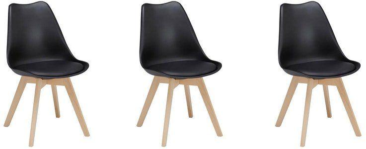 3er Pack Retro Stuhl Rocky für 33,52€ inkl. VSK
