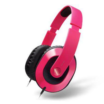 Creative HQ 1600   Kopfhörer in Pink für 5,99€ (statt 10€)