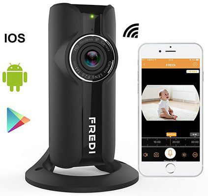 FREDI FRFV   1080p WLAN Cam für 20€ (statt 50€)