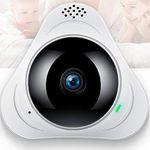 FREDI 360° WLAN Cam (720p) mit Fischaugenobjektiv für 18,80€ (statt 47€)