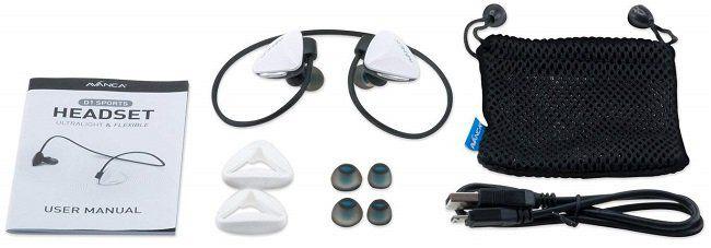 Avanca D1 kabelloses Sport Headset mit Bluetooth 4.0 für 21,95€ (statt 39€)