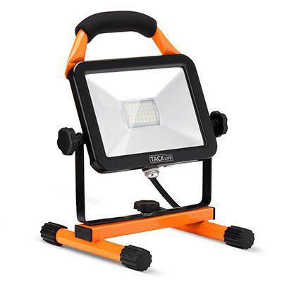 Tacklife LWL3B   Arbeitsleuchte mit LEDs (20W) für 17,99€ (statt 23€)