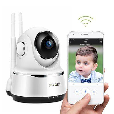 FREDI   720p WLAN Cam mit vielen Funktionen für 21,99€ (statt 44€)