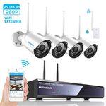 SZsinocam 4CH 1080p Überwachungskamera System für 119,97€ (statt 190€)