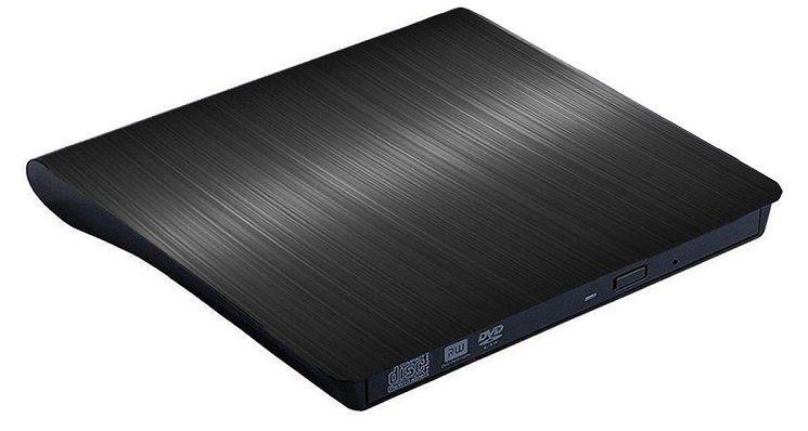 Zacfton externer DVD Brenner für MacBook und Windows für 7,49€ (statt 21€)