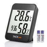 Tacklife HM02 – Temperatur- und Feuchtigkeitsmesser mit LCD & vielen Funktionen für 9,99€ (statt 13€)