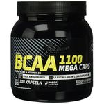 Olimp BCAA Mega Caps 1100 (300 Kapseln) für 21,59€ (statt 27€)