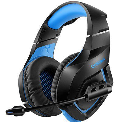 ONIKUMA Over Ear Gaming Headset für 13,99€ (28€)