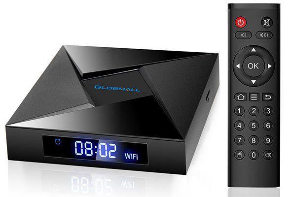 Globmall X4    TV Box (Android 7.1,  2GB RAM, 16GB ROM) für 35,99€ (statt 47€)