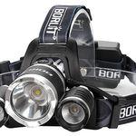 Caloics Stirnlampe mit 3 LED-Lichtern für 15,90€ (statt 32€)