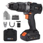Tacklife PCD04B Akku-Bohrschrauber/-hammer (18V & 2 Akkus) für 78,29€ (statt 90€)