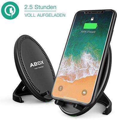 ABOX QC440   Qi Ladegerät für 11,99€ (statt 22€)