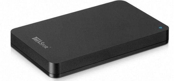 TrekStor DataStation pocket pace   externe 2,5 Festplatte mit 1 TB für 37€ (statt 53€)
