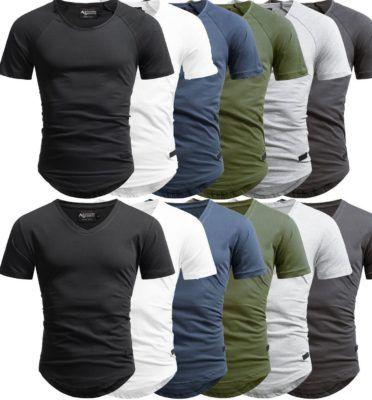 A. Salvarini AS 076   Herren Shirts bis 3XL für je 10,90€