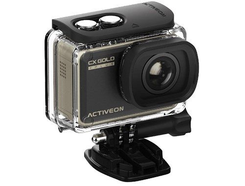 ACTIVEON GCB10W CX GOLD PLUS Actioncam mit WLAN und Touchscreen für 55€ (statt 97€)