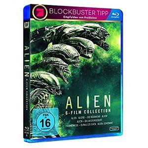 Alien 1 6 Collection auf Blu ray für 22€ (statt 29€)