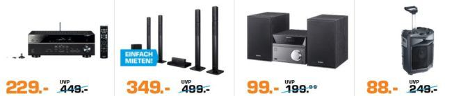 Saturn Weekend Sale: günstige Drohnen, TVs, Notebooks, Grills & mehr