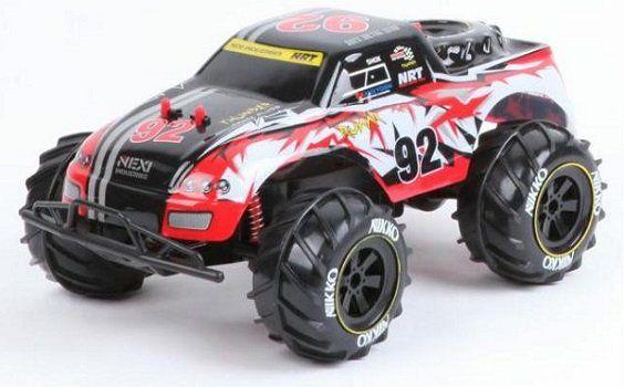 Nikko Monstertruck   ferngesteuertes Spielzeugauto mit Akku für 26,99€ (statt 35€)