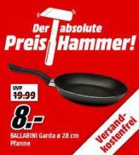 BALLARINI 39T100.28 Bratpfanne 27cm für 8€ (statt 12€)