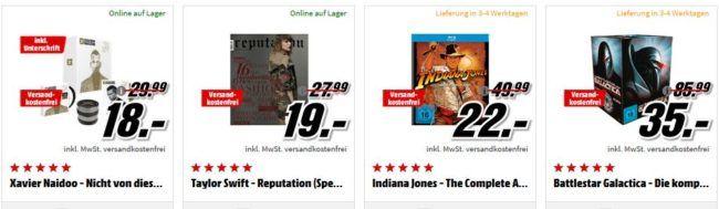 Indiana Jones   The Complete Adventures [Blu ray] für 22€ uvm. im Media Markt Dienstag Sale