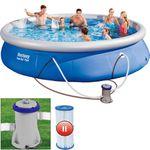Quick UP Pool 457x84cm + Filterpumpe + Kartusche für 79€