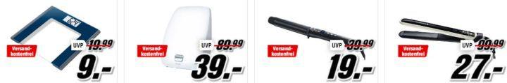 Media Markt Marken Sparen: günstige Artikel von Beurer, Remington, Tefal und WMF