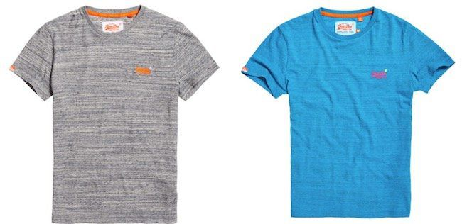 Superdry: 4 Orange Label T Shirts für 75€ (statt 90€)